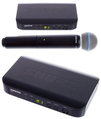 review shure-blx24-beta58-h8e