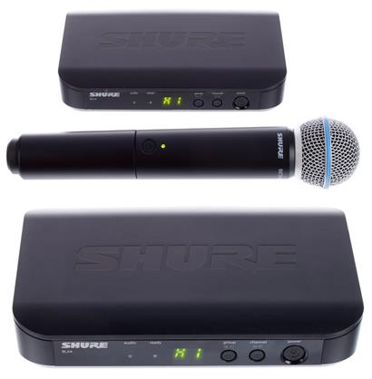 review shure-blx24-beta58-k14