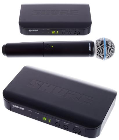review shure-blx24-beta58-k3e