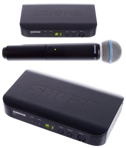 review shure-blx24-beta58-q25