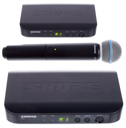 review shure-blx24-beta58-s8