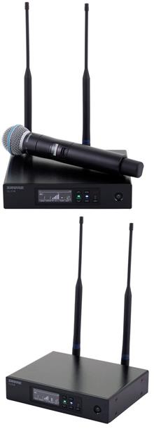 review shure-qlxd24-beta58-g51