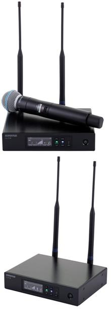 review shure-qlxd24-beta58-s50